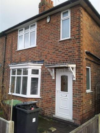 Thumbnail Semi-detached house to rent in Fletcher Road, Nottingham, Nottinghamshire