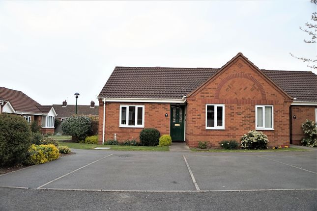 Thumbnail Semi-detached bungalow for sale in Broughton Close, Anstey, Leicester