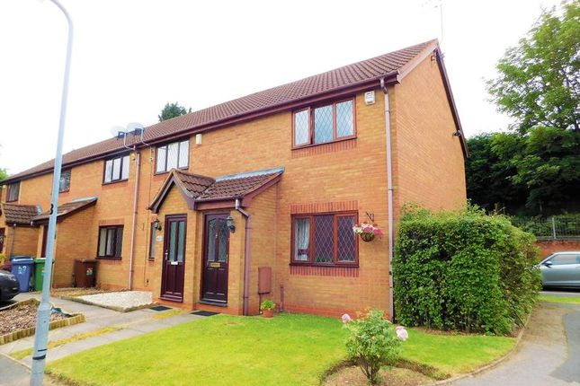 Front Elevation of Sandpiper Close, Hednesford, Cannock WS12