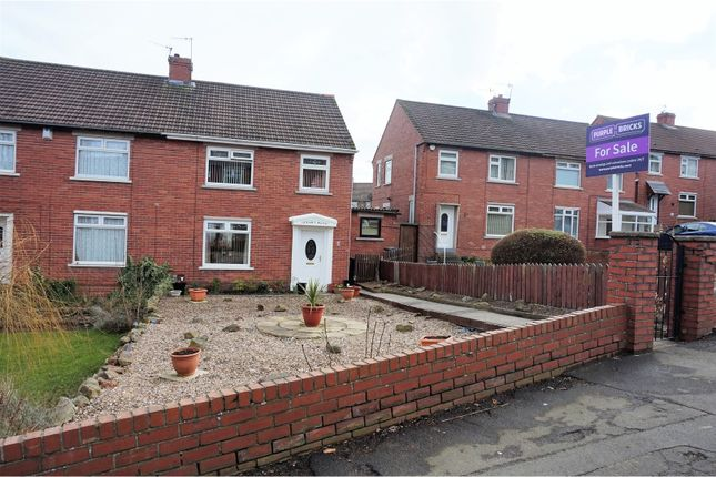 Thumbnail Semi-detached house for sale in Hadrian Gardens, Blaydon-On-Tyne