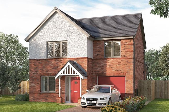 "Thumbnail Detached house for sale in ""The Melton"" at Pennyfine Road, Sunniside, Newcastle Upon Tyne"