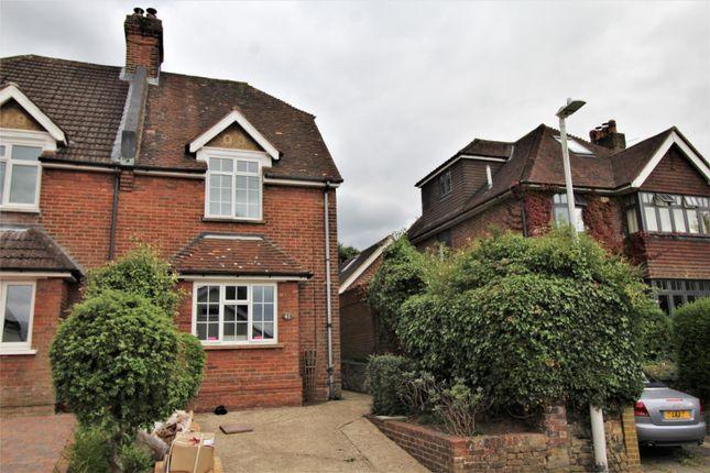 Thumbnail Semi-detached house to rent in Camden Road, Sevenoaks