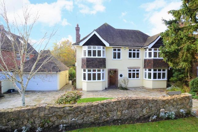 Thumbnail Detached house to rent in Crossfield Place, Weybridge