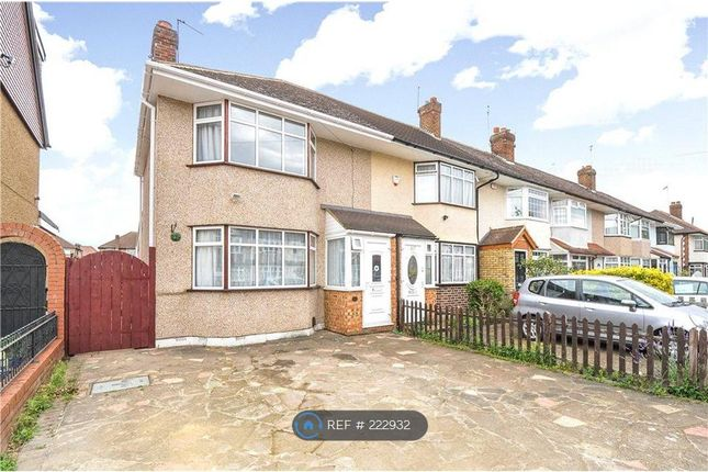 Thumbnail End terrace house to rent in Royal Crescent, Ruislip