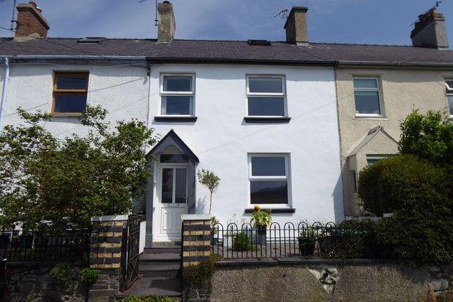 Thumbnail Terraced house for sale in Ffordd Yr Elen, Water Street, Carneddi, Bethesda, Bangor