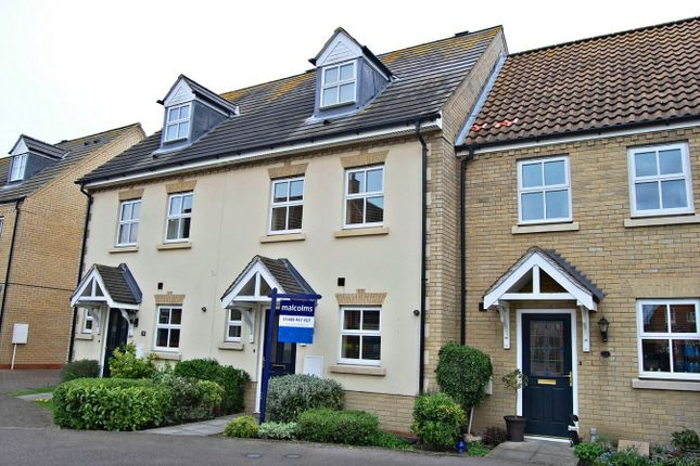 3 bed town house for sale in Roman Way, Godmanchester, Huntingdon PE29