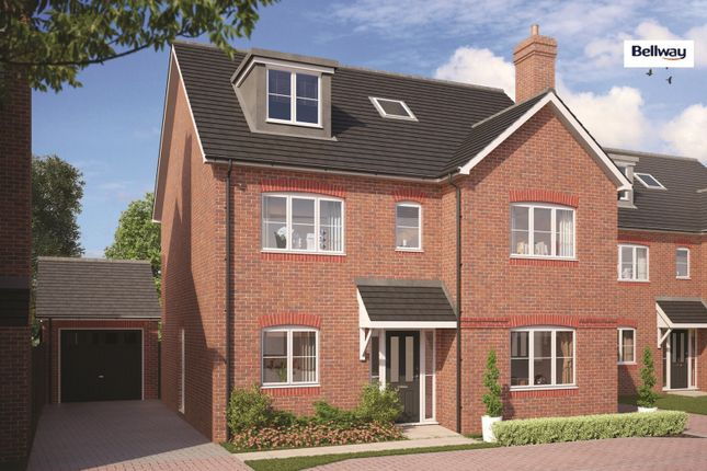 Thumbnail Detached house for sale in Arbor Lane, Winnersh