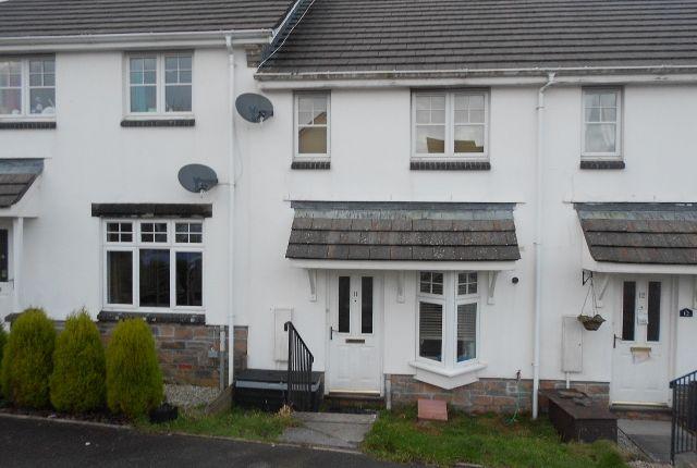 Thumbnail Terraced house to rent in Park Fenton, Liskeard