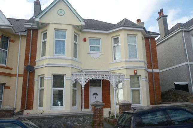 Thumbnail Flat to rent in Chestnut Road, Peverell, Plymouth