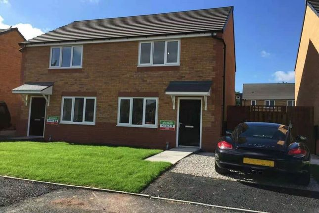 2 bed semi-detached house to rent in Lauderdale Crescent, Manchester M13