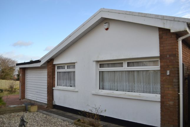 Thumbnail Bungalow to rent in Clyne Close, Mayals, Swansea