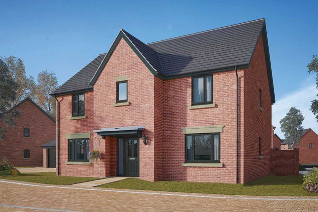 "Thumbnail Detached house for sale in ""The Wells"" at Gidding Road, Sawtry, Huntingdon"