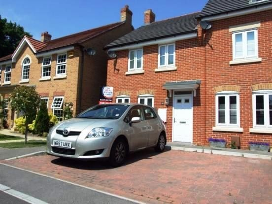 Thumbnail End terrace house to rent in Summerleigh Walk, Fareham