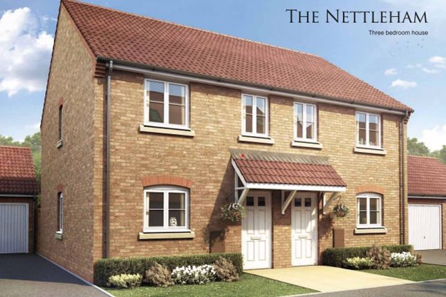 Semi-detached house for sale in The Nettleham, Wardentree Lane, Pinchbeck