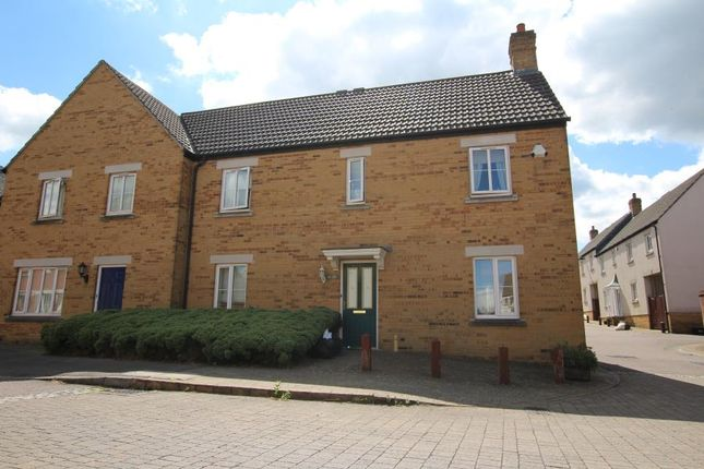 Thumbnail Semi-detached house to rent in Kings Drive, Stoke Gifford, Bristol