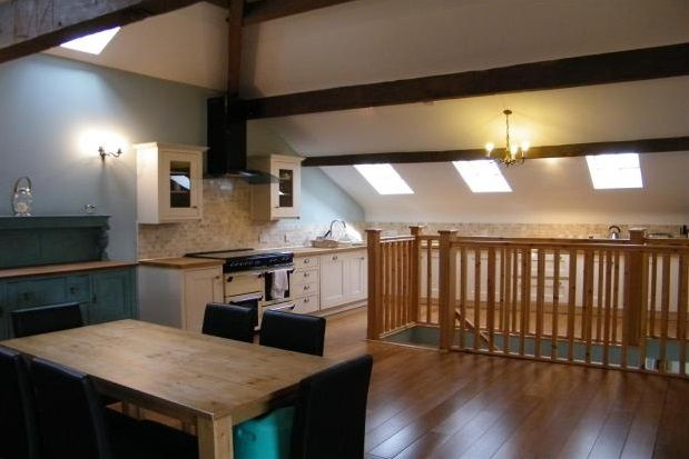 Thumbnail Barn conversion to rent in Blackburn Road, Ribchester, Preston