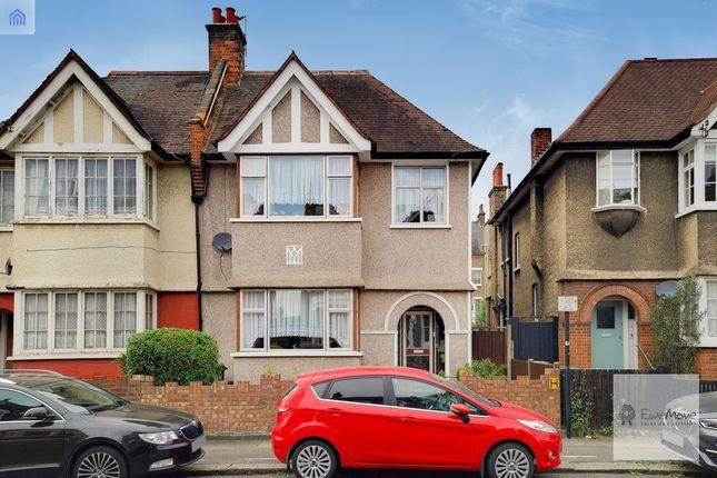 Thumbnail End terrace house for sale in Algernon Road, London