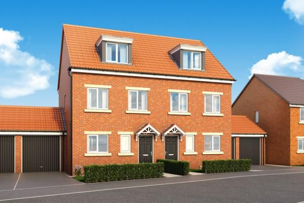 """Thumbnail Property for sale in """"The Sycamore At Hampton Green"""" at St. Marys Terrace, Coxhoe, Durham"""