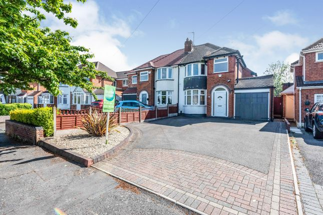 Thumbnail Semi-detached house for sale in Charingworth Road, Solihull