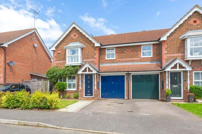 Thumbnail Semi-detached house for sale in East Park Farm Drive, Charvil, Reading, Berkshire