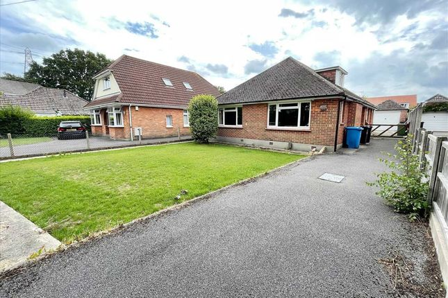 Thumbnail Detached bungalow for sale in Spicer Lane, Bearwood, Bournemouth