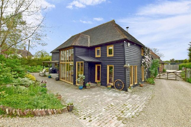 Thumbnail Barn conversion for sale in Ashford Road, High Halden, Ashford, Kent