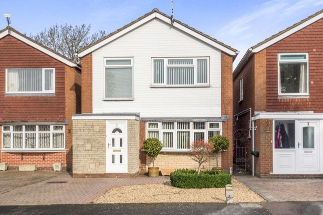 Thumbnail Detached house for sale in Pembroke Close, Warwick