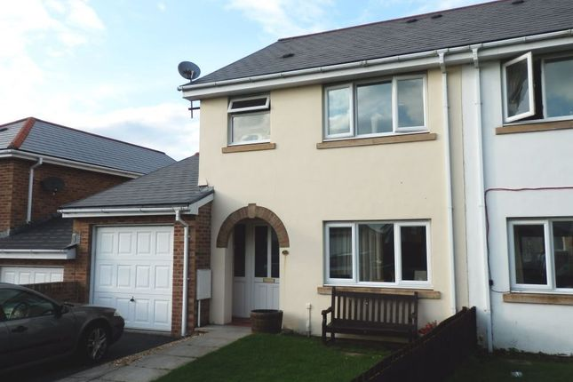 Thumbnail Semi-detached house for sale in Cwrt Y Brenin, Ffosyffin, Aberaeron