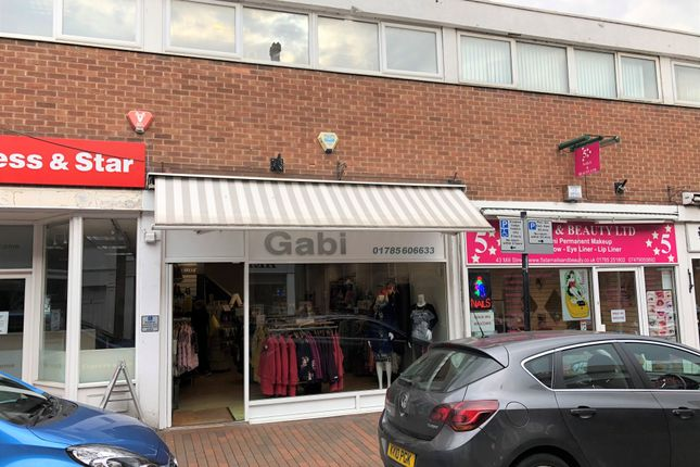 Thumbnail Retail premises to let in 42 Mill Street, Stafford, Staffordshire