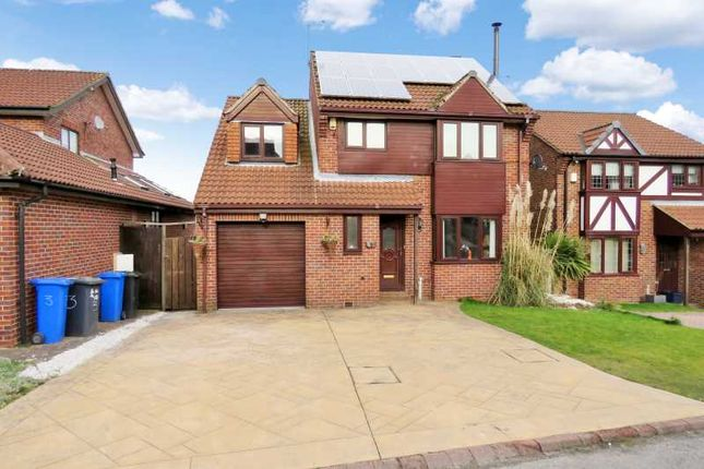Thumbnail Detached house for sale in Bishopdale Court Ridgeway Heights, Sheffield