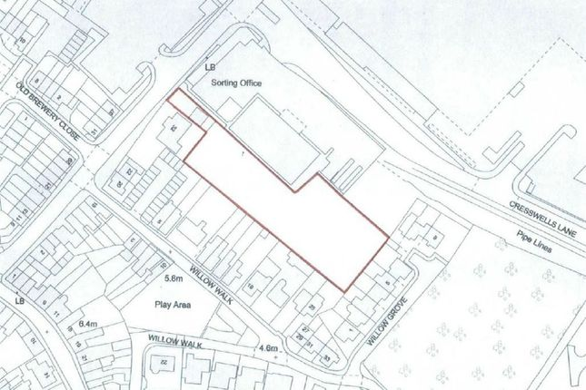 Thumbnail Land for sale in Lisle Lane, Ely