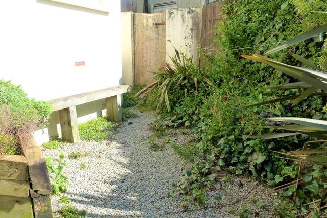 Communal Garden of Brewery House, Bay Tree Hill, Liskeard, Cornwall PL14