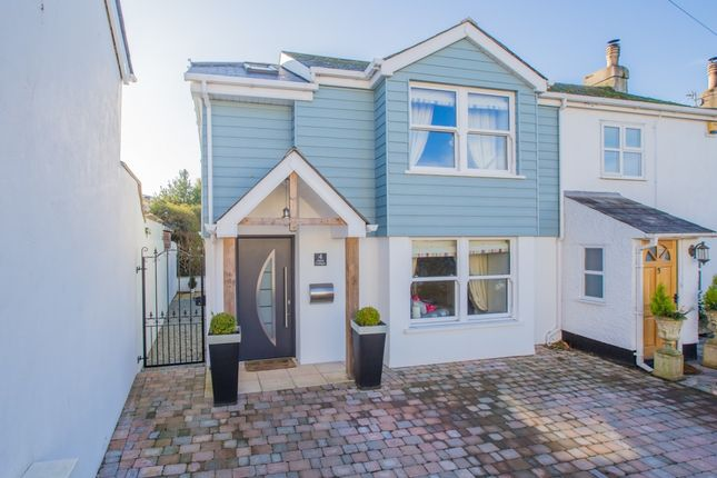 Thumbnail End terrace house for sale in Babbacombe Downs Road, Torquay