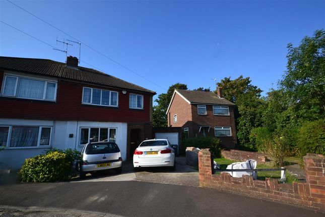 Thumbnail Semi-detached house for sale in Bedfont Close, Feltham