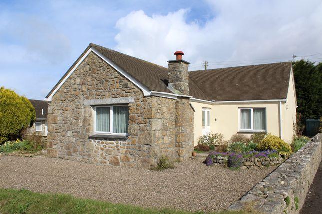 Thumbnail Detached bungalow for sale in Newbridge, Near Penzance