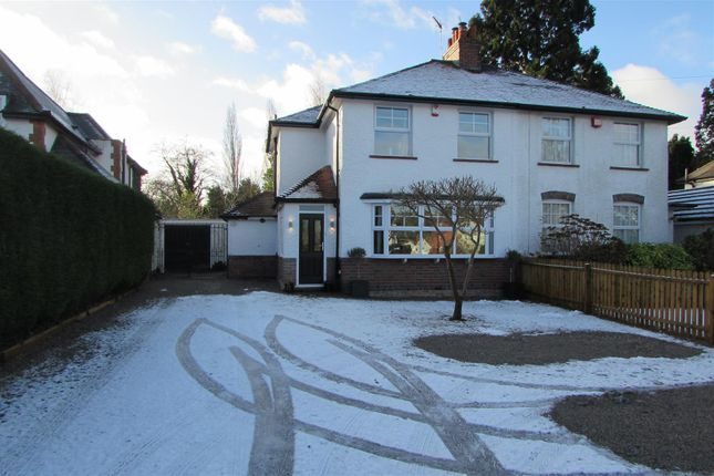 Thumbnail Semi-detached house to rent in Kirby Lane, Kirby Muxloe, Leicester