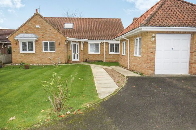 Thumbnail Detached bungalow for sale in Glenham Drive, Willerby, Hull