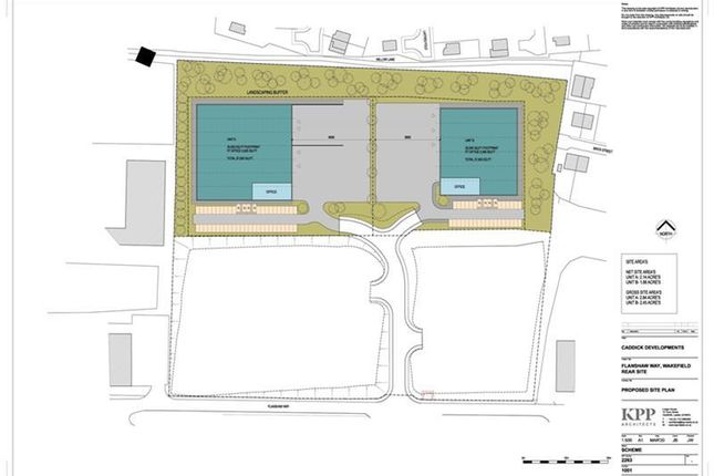 Thumbnail Industrial to let in Rear Plot, Centric 40, Flanshaw Way, Wakefield, West Yorkshire