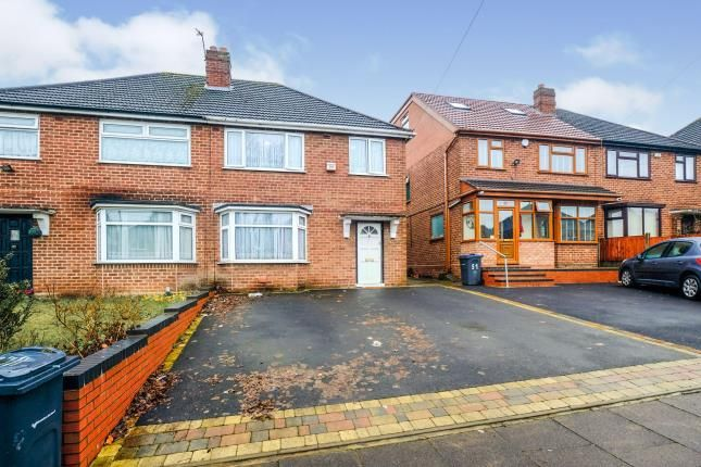 Thumbnail Semi-detached house for sale in Inglefield Road, Stechford, Birmingham, West Midlands