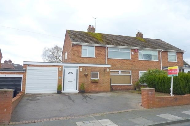 Thumbnail Semi-detached house to rent in Mount Drive, Bebington, Wirral