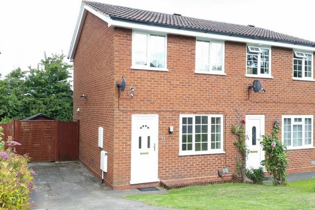 Thumbnail Semi-detached house to rent in Stoneleigh Close, Redditch