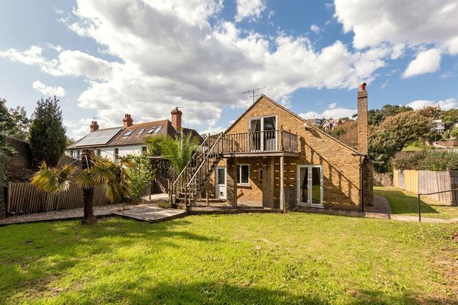 Thumbnail Detached house for sale in Radnor Cliff Crescent, Folkestone