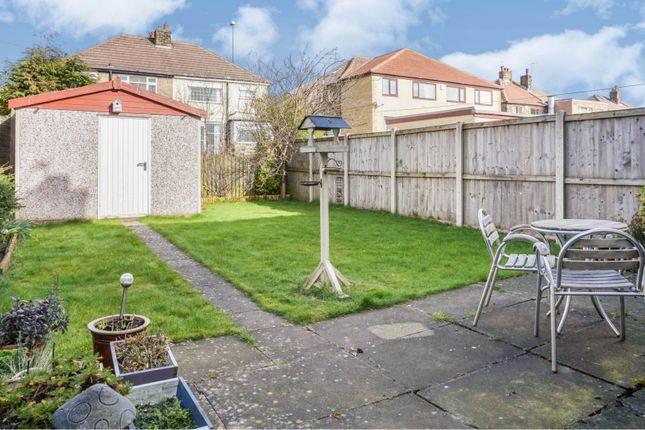Rear Garden of Calverley Moor Avenue, Pudsey LS28