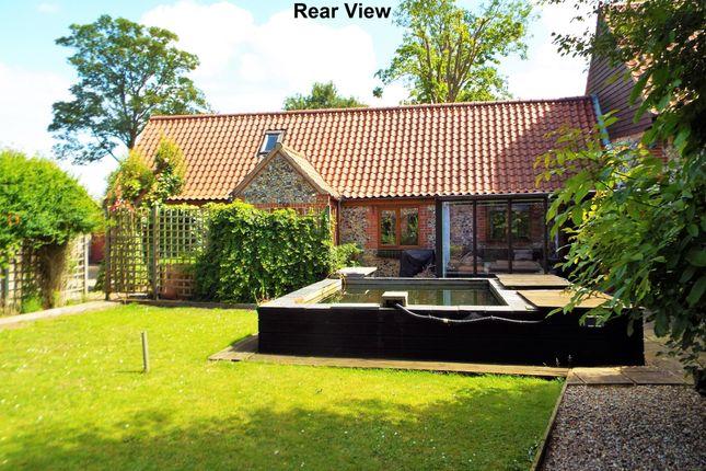 Thumbnail Barn conversion for sale in Brandon Road, Hilborough, Thetford
