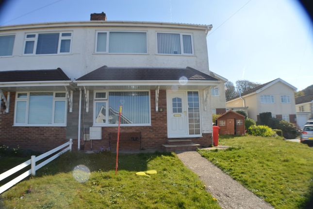 Thumbnail Semi-detached house for sale in Tyn Y Twr, Baglan, Port Talbot