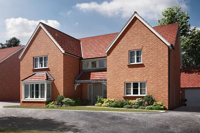 "Thumbnail Detached house for sale in ""The Becket"" at Radwinter Road, Saffron Walden, Essex, Saffron Walden"
