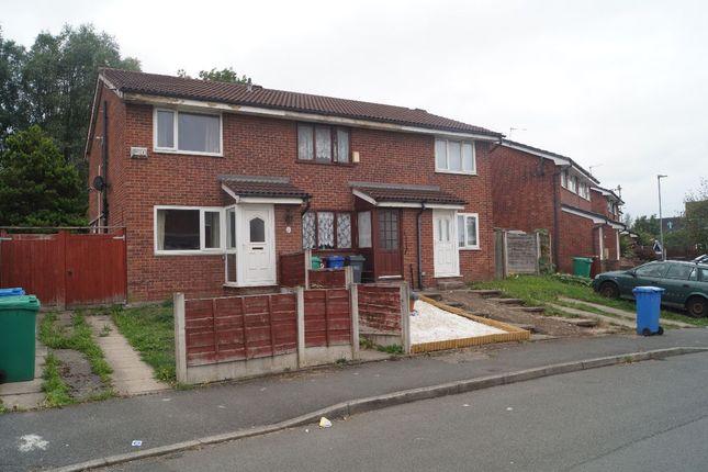 Thumbnail Semi-detached house to rent in Kimbolton Close, Gorton