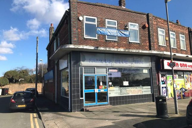 Thumbnail Restaurant/cafe for sale in Dover Road, Maghull, Liverpool