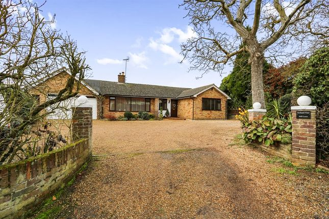 Thumbnail Detached bungalow for sale in Mill Lane, Witnesham, Ipswich