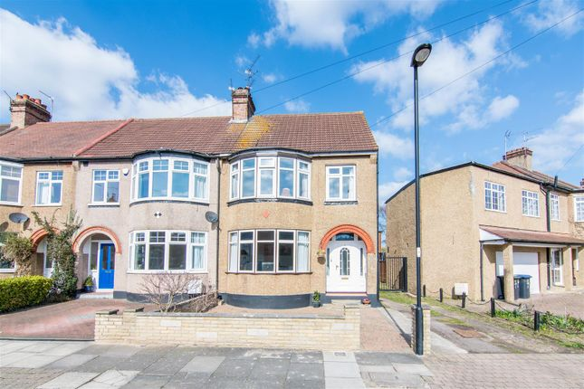 Thumbnail End terrace house for sale in Farr Road, Enfield